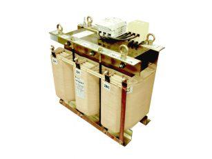 Transformator trójfazowy foliowy